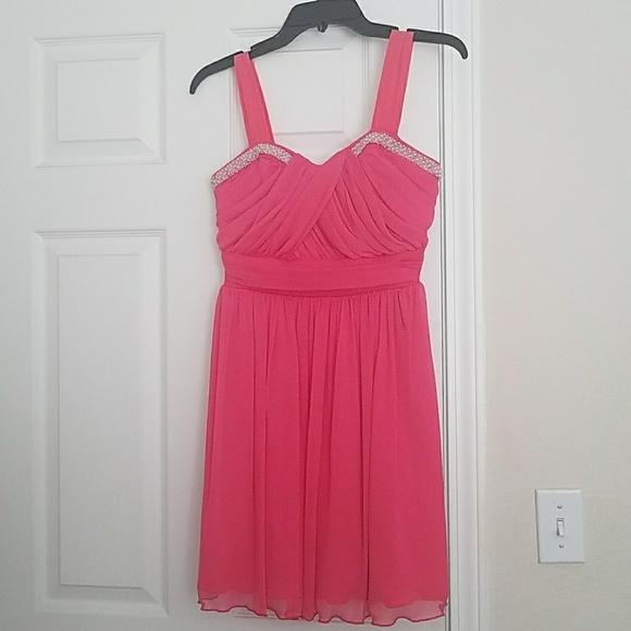 In San Francisco Dresses Pink Short Formal Dress Poshmark